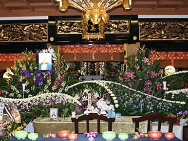 お寺での葬儀